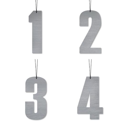 Billede af Advents tal, 4 stk