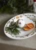 Billede af Hammershøi Christmas Ovalt bordfad