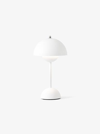 Billede af Flowerpot Table Lamp - VP9 - Mat Hvid