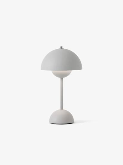 Billede af Flowerpot Table Lamp - VP9 - Mat Grå