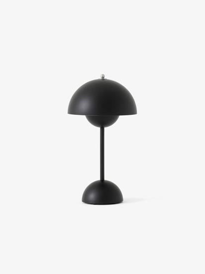 Billede af Flowerpot Table Lamp - VP9 - Mat Sort