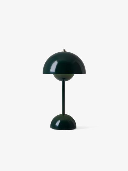 Billede af Flowerpot Table Lamp - VP9 - Mørk grøn