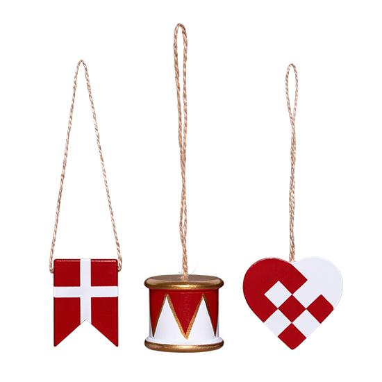 Billede af Peters Jul - Gaveæske med tromme, flag og hjerte