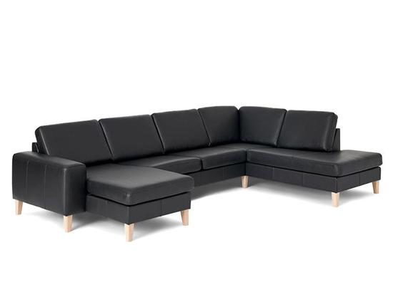 Billede af Visby sofa med open end og chaiselong, venstre