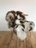 Billede af Lammeskind brun/hvid fra Europa