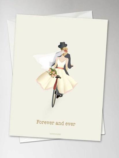 Billede af FOREVER AND EVER Anledningskort