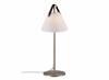 Billede af Strap bordlampe med opal glasskærm