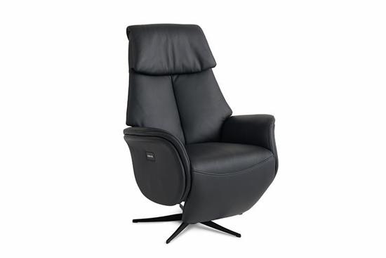 Billede af Global Comfort Ottawa lænestol med indbygget fodskammel