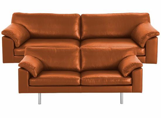 Billede af Palermo 3 + 2,5 pers. sofa cognac