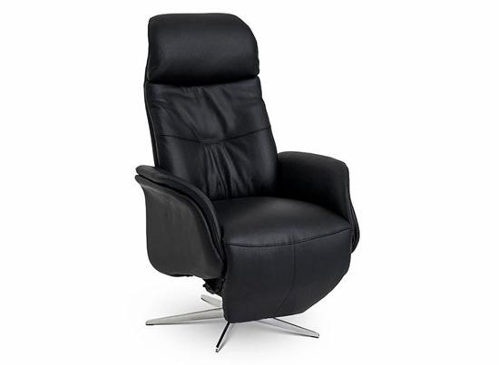 Billede af Global Comfort Denver medium lænestol med indbygget fodskammel