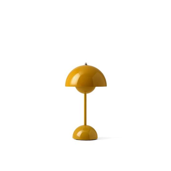 Billede af Flowerpot Table Lamp - VP9 - Mustard