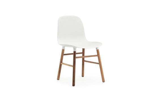 Billede af Form stol, valnød