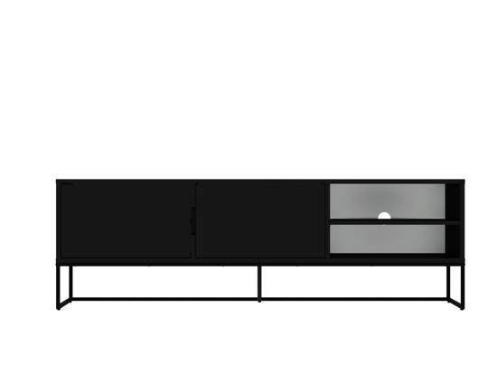 Billede af LIPP Tv-Møbel, 176cm, sort