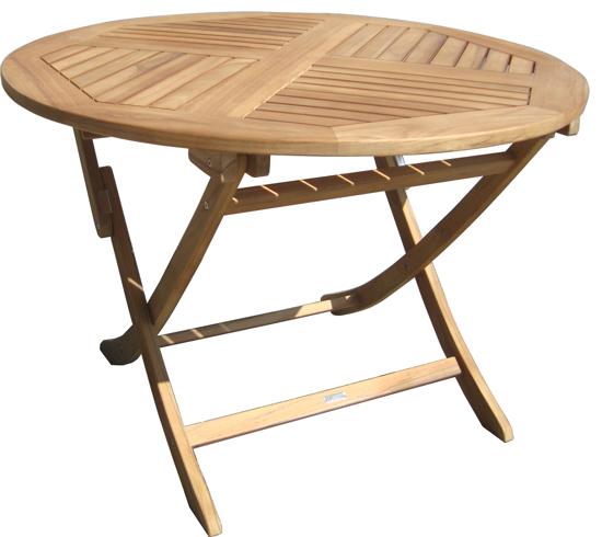Billede af Fanø havebord, Ø110cm