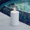 Billede af Uyuni Outdoor LED Bloklys - Ø7,8x12,7cm