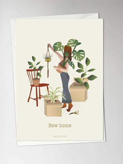 Billede af New Home Anledningskort