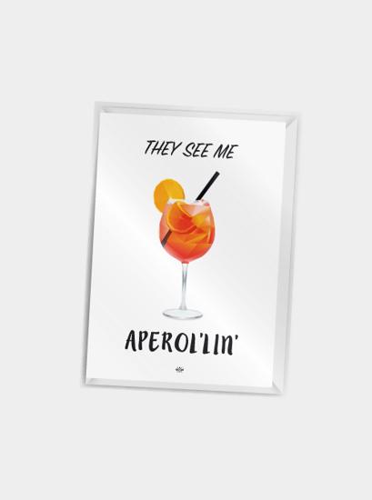 Billede af They see me aperollin, A7 Kort