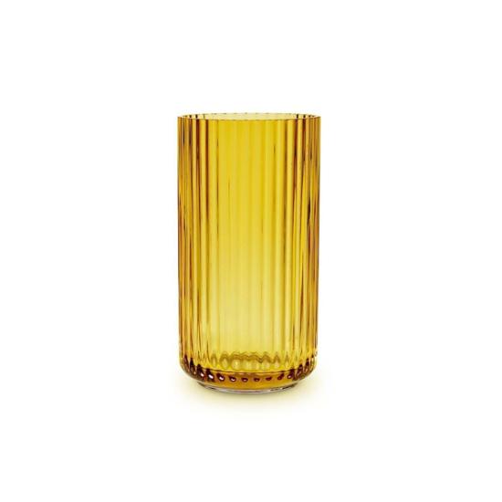 Billede af Lyngby vase 15,5cm, amber