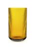 Billede af Lyngby vase 20,5cm, amber