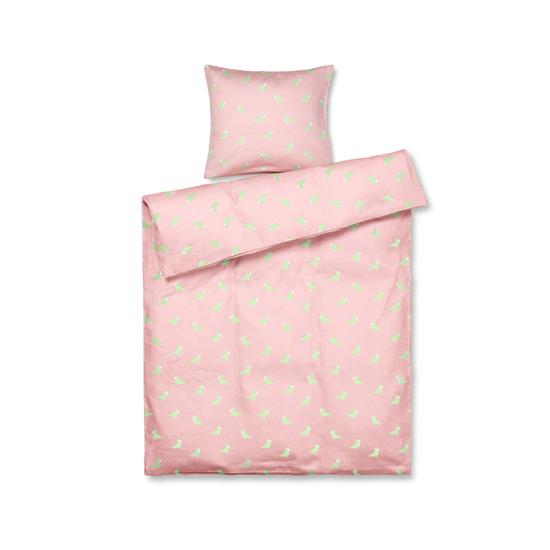 Billede af Kay Bojesen Sangfugl baby sengetøj, rosa