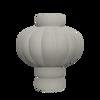 Billede af Ballon Vase 03, Sanded grey