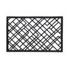 Billede af Lines gummi dørmåtte, 45x75cm