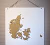Billede af Tavle til Danmarkskort, S