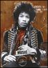Billede af Hendrix by artist, 50x70