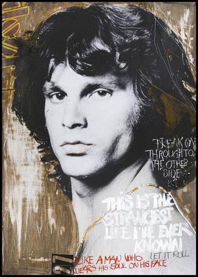 Billede af Morrison by artist, 50x70