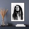 Billede af Bob Marley, 30x40