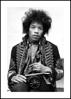 Billede af Jimi Hendrix, 30x40