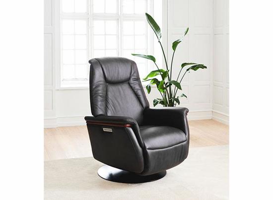 Billede af Stressless® Max lænestol med indbygget fodskammel