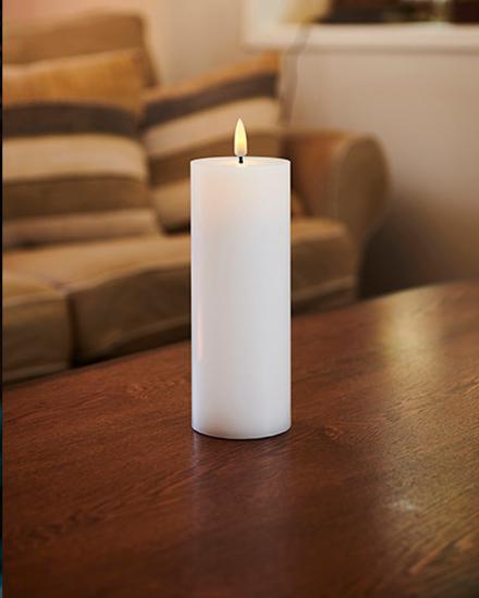 Billede af Sille Genopladelig LED lys, Ø7,5XH20cm