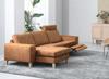 Billede af Visby sofa med chaiselong og 1 stk. el-recliner